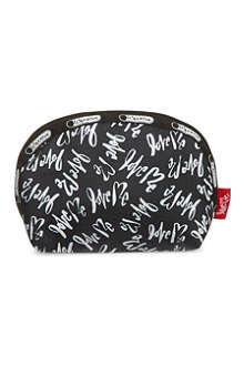 LE SPORTSAC Lss ck dome cosmetic bag