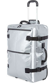 HIDEO WAKAMATSU Tarpaulin medium two-wheel suitcase 71cm