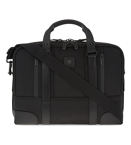 VICTORINOX LaSalle 13 laptop briefcase (Black