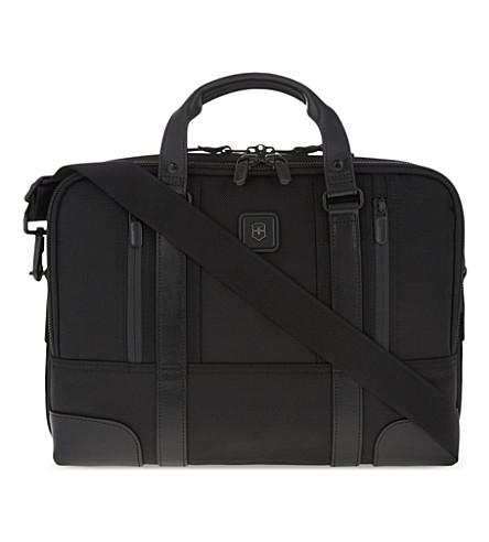 VICTORINOX LaSalle 13 laptop briefcase (Black