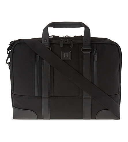 VICTORINOX LaSalle 15 laptop briefcase (Black