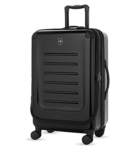 VICTORINOX Spectra 2.0 expandable four-wheel suitcase 69cm (Black