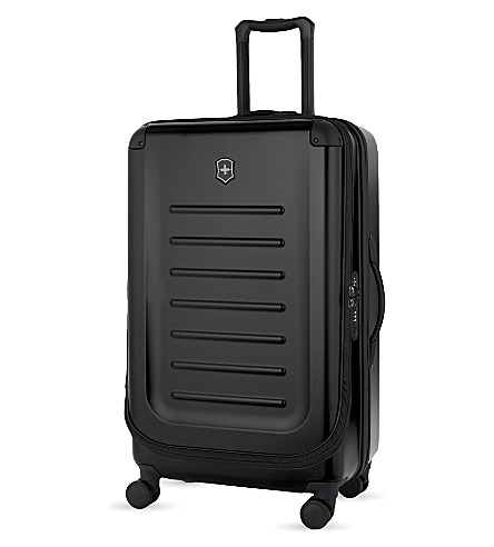 VICTORINOX Spectra 2.0 expandable four-wheel suitcase 78cm (Black