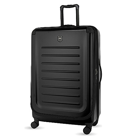 VICTORINOX Spectra 2.0 expandable four-wheel suitcase 82cm (Black