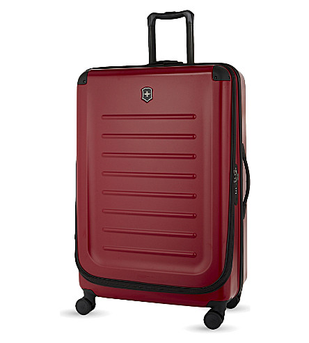 VICTORINOX Spectra 2.0 expandable four-wheel suitcase 82cm (Red