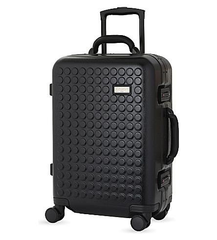 DOT DROPS Chapter 4 four-wheel cabin suitcase 55cm (Black