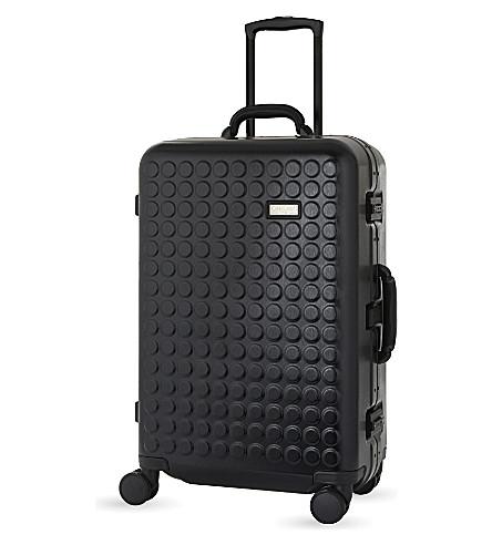 DOT DROPS Chapter 4 four-wheel suitcase 69cm (Black