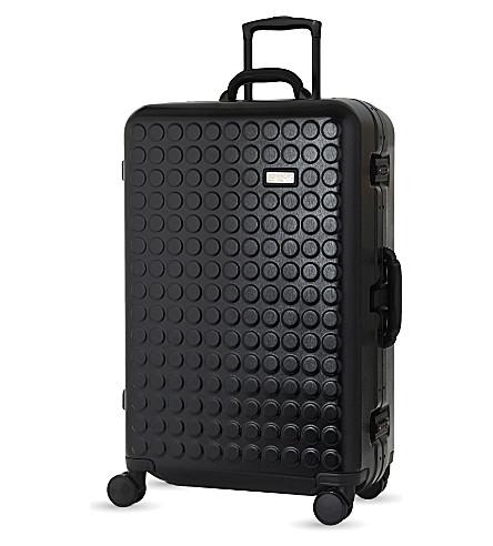 DOT DROPS Chapter 4 four-wheel suitcase 76cm (Black