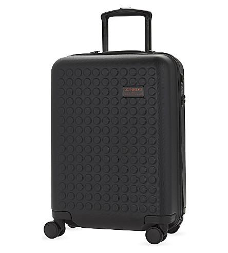 DOT DROPS Chapter 1 four-wheel cabin suitcase 55cm (Black