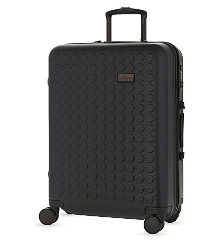 DOT DROPS Chapter 1 four-wheel suitcase 61cm (Black