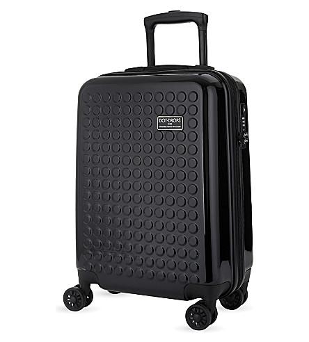 DOT DROPS Chapter 2 four-wheel cabin suitcase 55cm (Black
