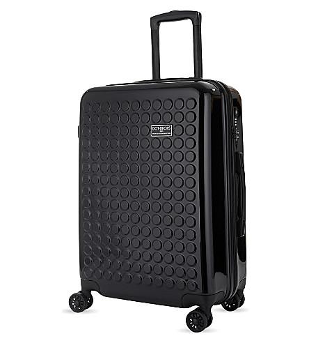 DOT DROPS Chapter 2 four-wheel suitcase 63cm (Black