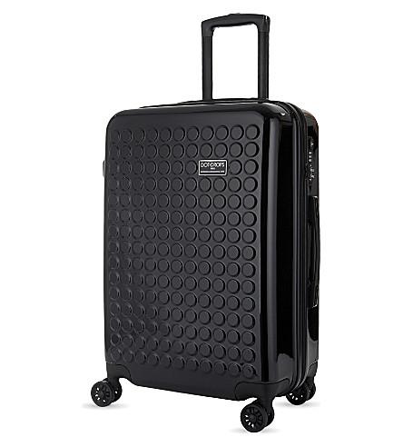 DOT DROPS Chapter 2 four-wheel suitcase 73cm (Black