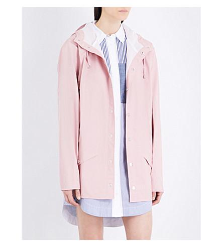 RAINS Matte shell unisex rain jacket (Rose