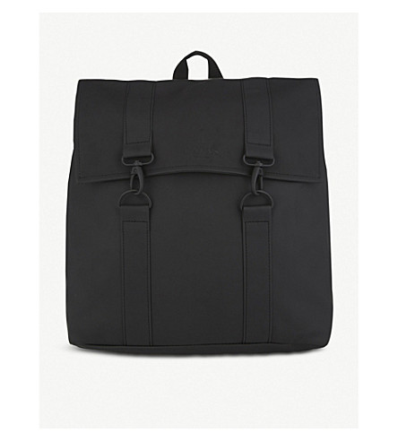 RAINS MSN backpack (Black
