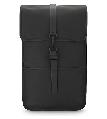 RAINS Backpack (Black