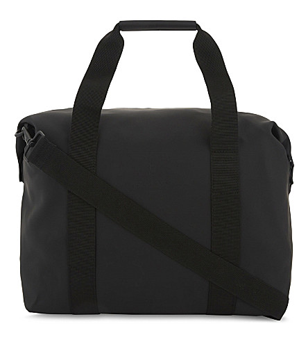 RAINS Zipped holdall (Black