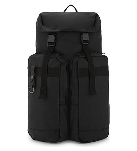 RAINS Utility backpack (Black