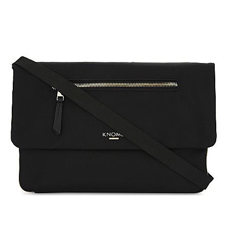 KNOMO Mayfair Elektronista shoulder bag (Black