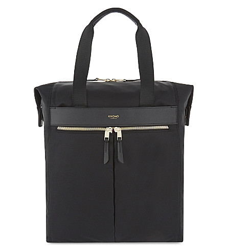 KNOMO Mayfair Chiltern backpack (Black