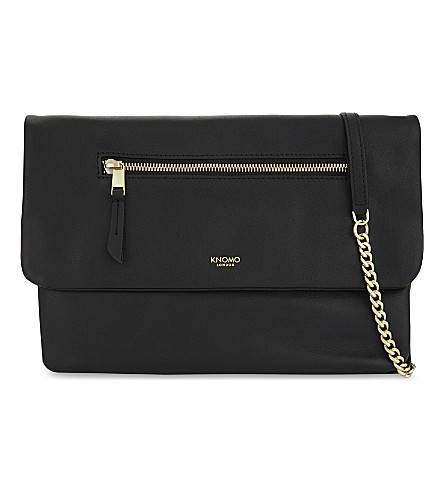 KNOMO Mayfair Elektronista shoulder bag (Black
