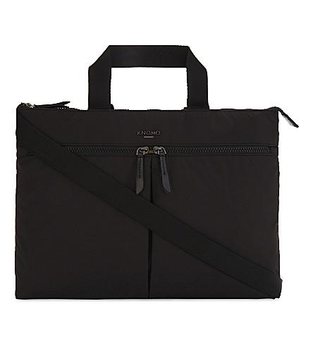 KNOMO Copenhagen briefcase (Black