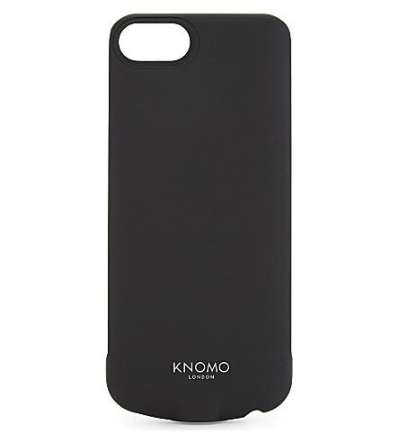 KNOMO DropGo wireless charging iPhone case (Black
