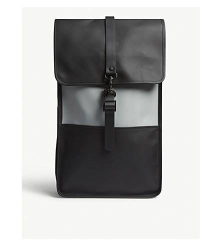 RAINS Field backpack (Black/stone