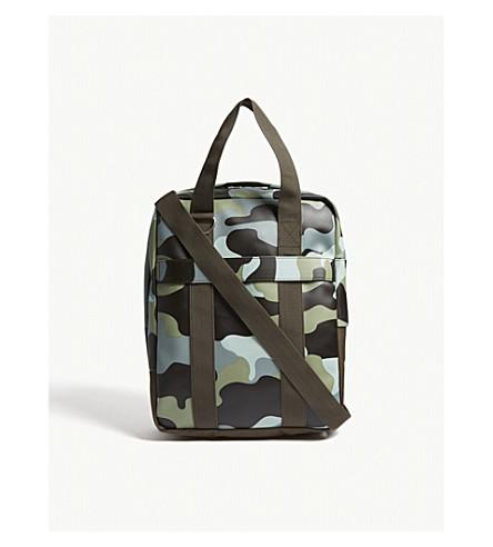 RAINS Utility camouflage print tote bag (Sea+camo