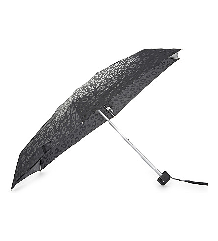 FULTON Leopard print umbrella (Luxury+leopard