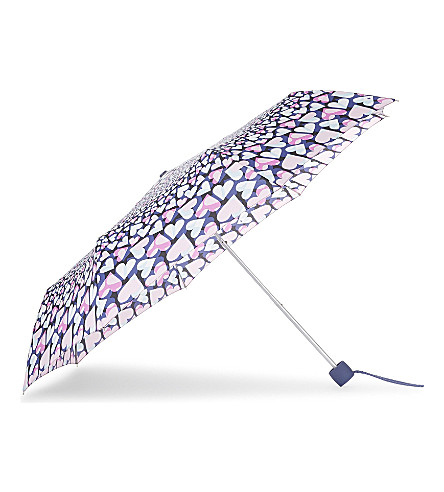 FULTON Heart print umbrella (Heart+kaleidoscope