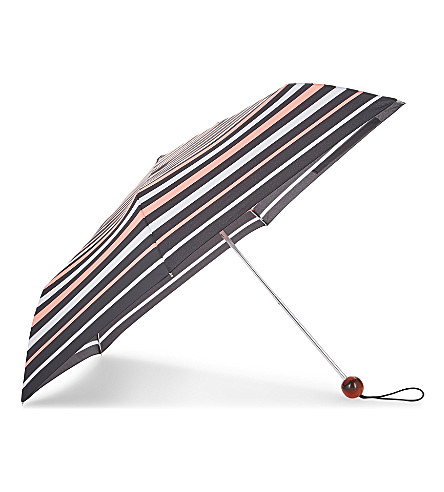 FULTON Striped umbrella (Neon+stripe