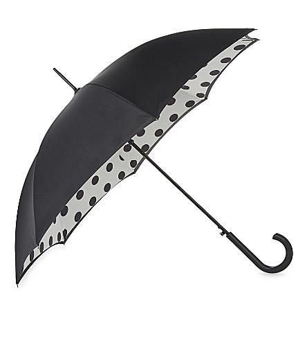 FULTON Bloomsbury polka dot umbrella (Polka+dot