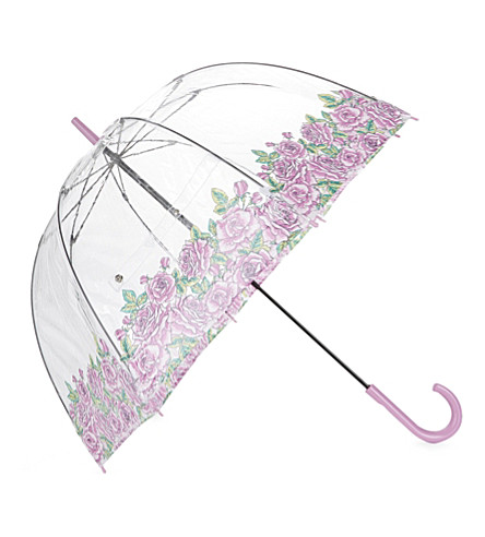 FULTON Coming up Roses birdcage umbrella (Coming+up+roses
