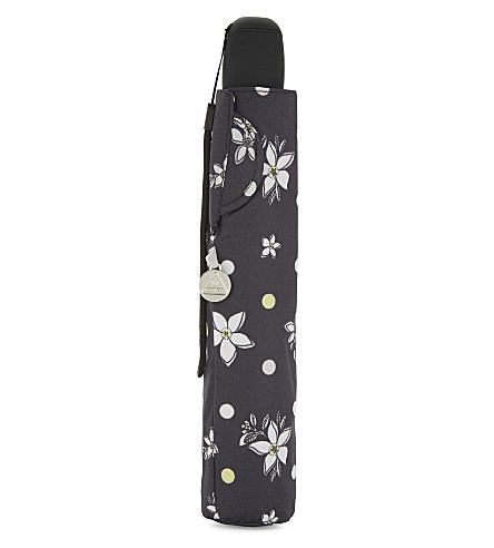 FULTON Open & Close Superslim No.2 umbrella (Spotty flower