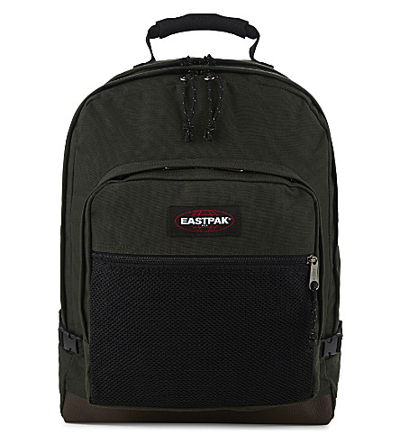 EASTPAK Ultimate nylon backpack (Army+socks.