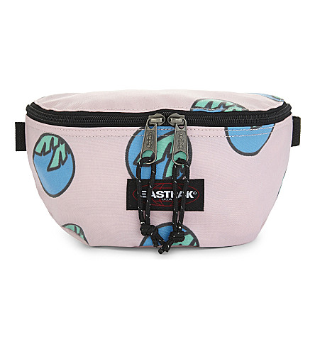 EASTPAK Palm tree print bumbag (Hot+view