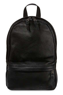 EASTPAK Pebbled leather Frick backpack