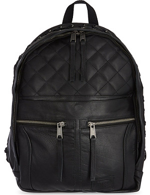 EASTPAK Jean Paul Gaultier leather biker backpack