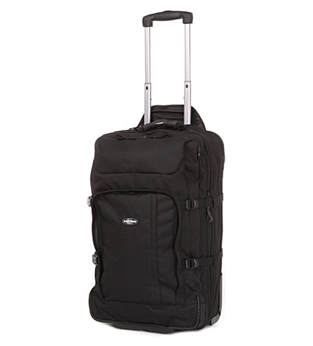 EASTPAK Hicks double-deck two-wheel suitcase 65cm (Black