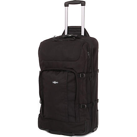 EASTPAK Hicks double-deck two-wheel suitcase 75cm (Black