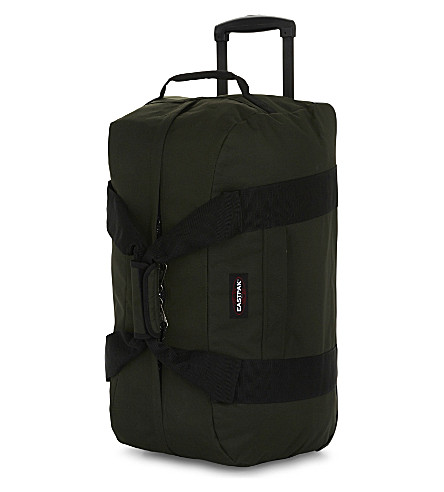 EASTPAK Container 65 two-wheel duffle (Army+socks