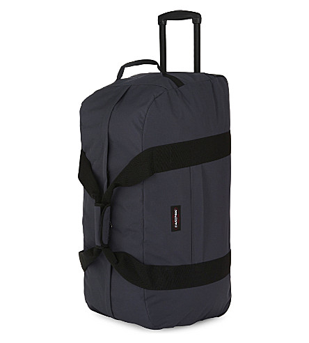 EASTPAK Container 85 two-wheel duffle bag (Quiet+grey