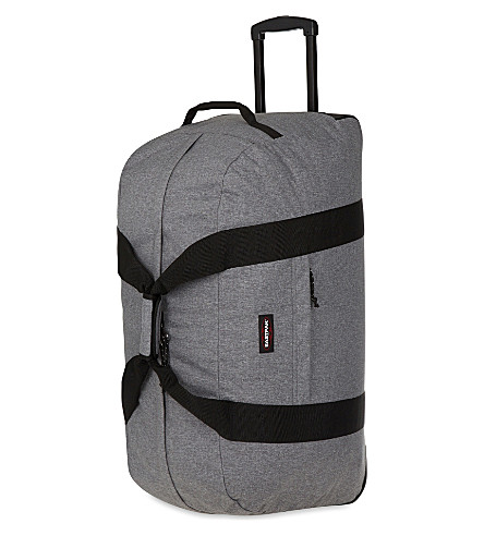 EASTPAK Container 85 two-wheel duffle bag (Sunday+grey