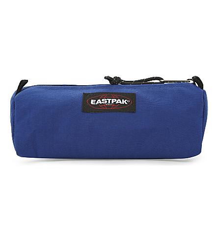 EASTPAK Benchmark nylon pencil case (Bonded+blue