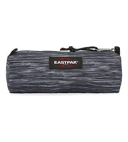 EASTPAK Benchmark nylon pencil case (Knit+grey