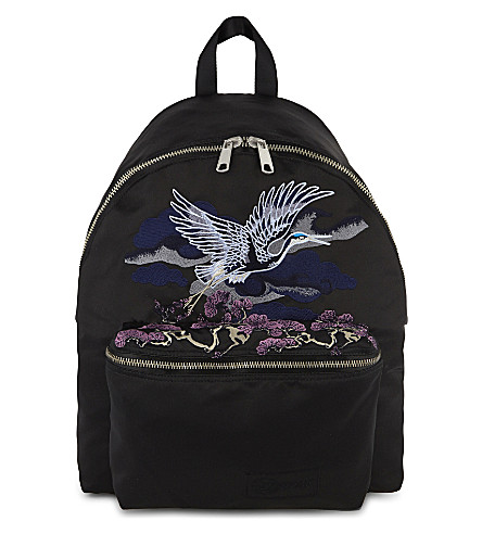 EASTPAK Padded Pak'r Sukajan Crane embroidered backpack (Sukajan crane