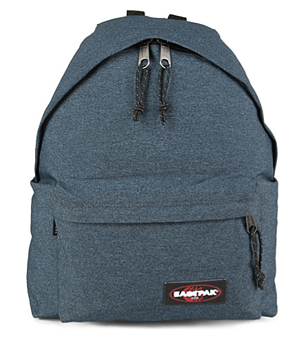 EASTPAK Padded Pak'r denim backpack (Double+denim
