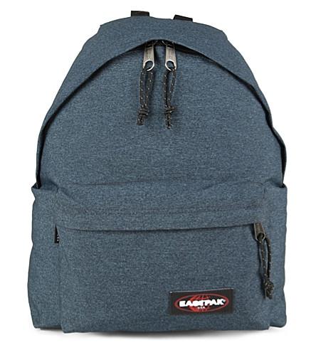 EASTPAK Padded Pak'r denim backpack (Double denim