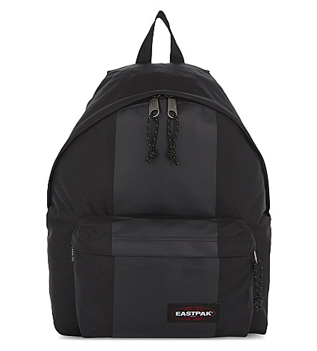 EASTPAK Padded Pak'r backpack (Black+rubber